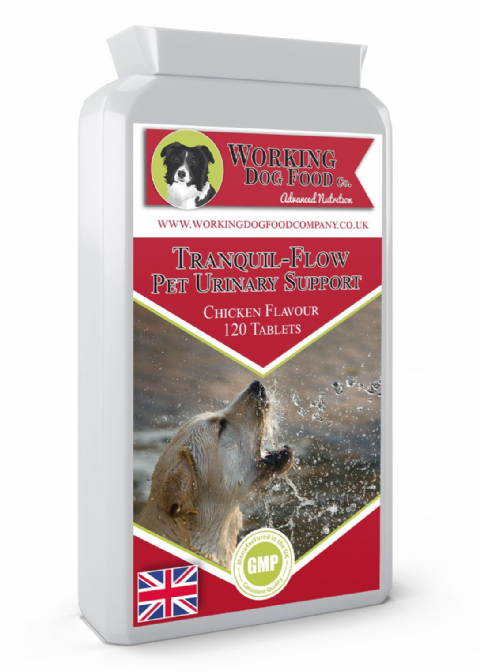 Tranquil-Flow Pet Urinary Support 120 Tablets